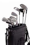 Insieme dei club di golf immagine stock libera da diritti