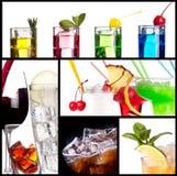 Insieme dei cocktail alcolici Immagine Stock Libera da Diritti