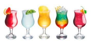 Insieme dei cocktail di estate Immagine Stock