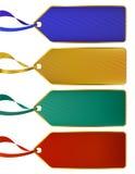 Insieme dei contrassegni di lusso ricchi di colore, modifiche illustrazione vettoriale