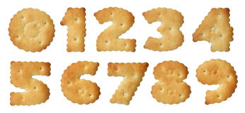 Insieme dei cracker. Fotografia Stock Libera da Diritti