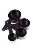 Insieme dei cucchiai misurati Fotografia Stock Libera da Diritti