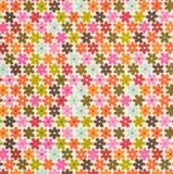 insieme dei fiori di disegno colorati Immagini Stock