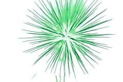 Insieme dei fuochi d'artificio isolati sul contesto bianco Fotografia Stock