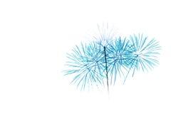 Insieme dei fuochi d'artificio isolati sul contesto bianco Immagine Stock