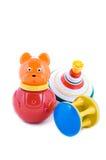 Insieme dei giocattoli del bambino Fotografie Stock