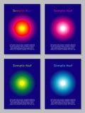 Insieme dei modelli della carta Immagine Stock Libera da Diritti