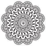 Insieme dei modelli senza cuciture dell'indaco in blu per le piastrelle per pavimento, raccolta ornamentale per ceramico lustrato illustrazione vettoriale