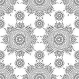 Insieme dei modelli senza cuciture dell'indaco in blu per le piastrelle per pavimento, raccolta ornamentale per ceramico lustrato royalty illustrazione gratis
