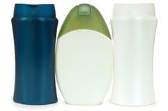 Insieme dei prodotti differenti di igiene e di bellezza. Immagini Stock
