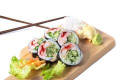 Insieme dei rotoli di sushi di Boston Fotografia Stock