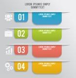 Insieme dei segnalibri, autoadesivi, etichette, etichette Fotografia Stock Libera da Diritti