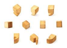 Insieme dei simboli multipli del punto e di virgola Fotografia Stock