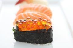 Insieme dei sushi Immagine Stock Libera da Diritti