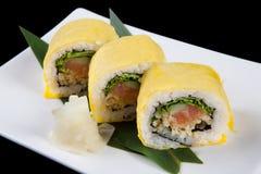 Insieme dei sushi Immagine Stock