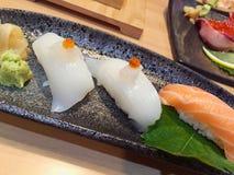 Insieme dei sushi Immagini Stock Libere da Diritti