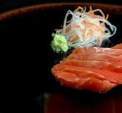 Insieme dei sushi del sashimi immagine stock libera da diritti