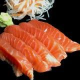 Insieme dei sushi del sashimi fotografie stock