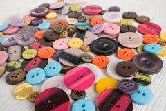 Insieme dei tasti colorati differenti Immagine Stock Libera da Diritti