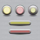 Insieme dei tasti per il disegno di Web Fotografia Stock