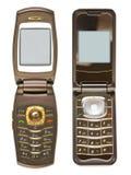 Insieme dei telefoni mobili Fotografie Stock