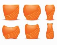 Insieme dei vasi. Vettore royalty illustrazione gratis