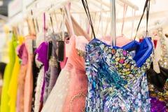 Insieme dei vestiti alla moda Fotografia Stock Libera da Diritti