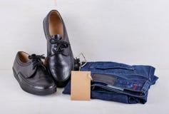 Insieme dei vestiti degli uomini Immagine Stock