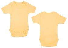 Insieme dei vestiti per i bambini ed i bambini, isolamento Immagini Stock