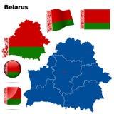 Insieme del Belarus. Fotografia Stock Libera da Diritti