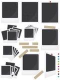 Insieme del blocco per grafici della foto royalty illustrazione gratis