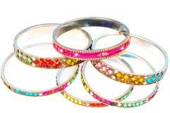 Insieme del braccialetto Fotografia Stock