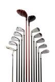 Insieme del club di golf Immagine Stock