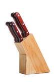 Insieme del coltello Immagine Stock