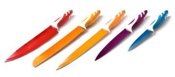 Insieme del coltello ceramico Immagine Stock