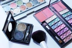 Insieme del cosmetico Fotografia Stock Libera da Diritti