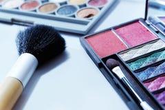 Insieme del cosmetico Fotografie Stock Libere da Diritti