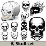 Insieme del cranio royalty illustrazione gratis