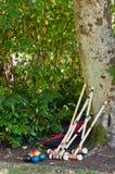 Insieme del Croquet Fotografia Stock Libera da Diritti