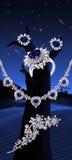 Insieme del diamante fotografia stock libera da diritti