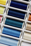 Insieme del filato cucirino Immagini Stock Libere da Diritti