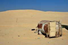 Insieme del film di Star Wars, Tunisia Immagini Stock