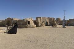 Insieme del film di Star Wars, Tunisia Immagine Stock Libera da Diritti