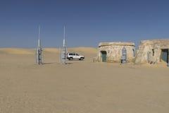 Insieme del film di Star Wars, Tunisia Fotografia Stock Libera da Diritti