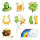 Insieme del giorno di St Patrick Royalty Illustrazione gratis