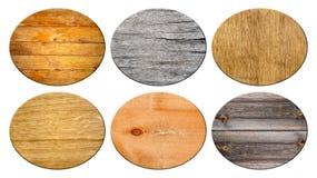Insieme del legno di struttura Fotografie Stock