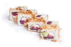 Insieme del maki dei sushi fotografie stock libere da diritti