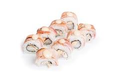 Insieme del maki dei sushi immagini stock