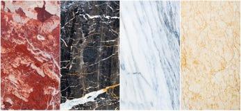 Insieme del marmo Fotografie Stock Libere da Diritti
