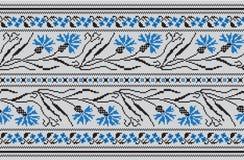 Insieme del modello etnico dell'ornamento nei colori differenti Illustrazione di vettore Fotografia Stock Libera da Diritti